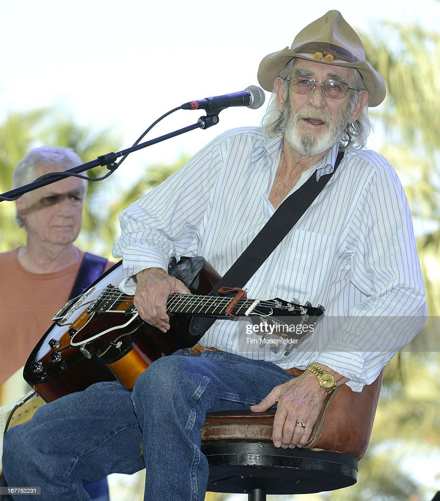Don Williams performs as part of the Stagecoach Music Festival at the Empire Polo Grounds on April 28, 2013 in Indio, California.