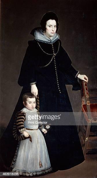 'Dona Antonia Ifenarrietta and Her Son' 1631 From the Museo del Prado Madrid