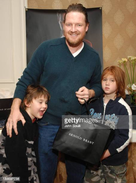 Donal Logue and guests during HBO Luxury Lounge Day 1 at Four Seasons Hotel in Beverly Hills California United States