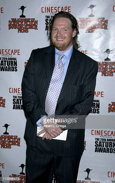 Donal Logue during The 29th Annual Saturn Awards By The Academy Of Science Fiction Fantasy And Horror Arrivals at Renaissance Hotel in Hollywood...