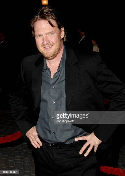 Donal Logue during 'Zodiac' Los Angeles Premiere Arrivals at Paramount Theatre in Hollywood California United States