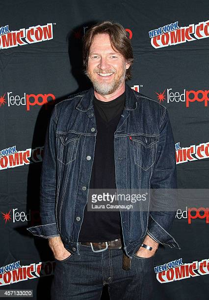 Donal Logue in the Press Room for 'Gotham' at 2014 New York Comic Con Day 4 at Jacob Javitz Center on October 12 2014 in New York City