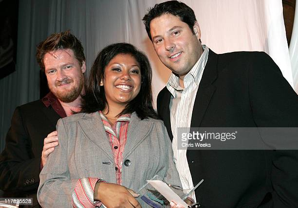 Donal Logue Verenise Palma and Greg Grunberg during Children's Defense Fund 14th Annual Beat the Odds Fundraiser Inside at Beverly Hills Hotel in...