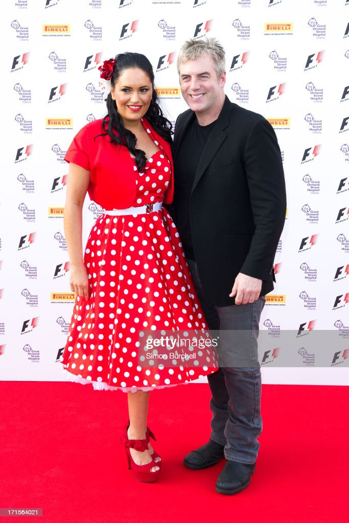 Donal MacIntyre and Adeera MacIntyre attends The F1 Party at Old Billingsgate Market on June 26, 2013 in London, England.