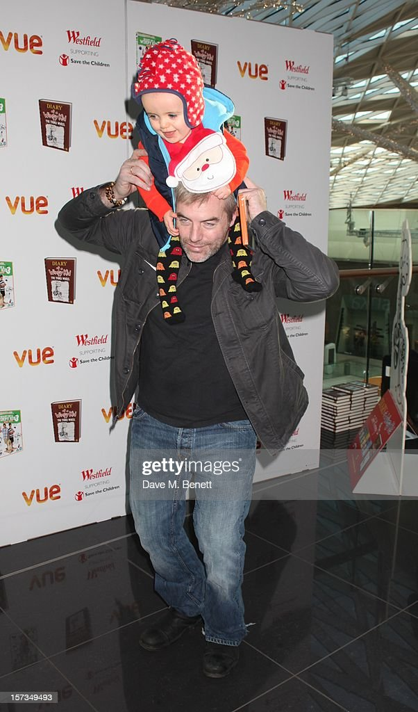 Donal MacIntyre attends 'Diary of a Wimpy Kid' UK dvd Premiere at Vue Westfield on December 02, 2012 in London, England.