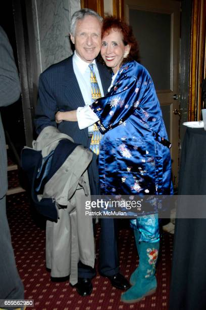 Donald Billings and Rose Billings attend STEWART F LANE BONNIE COMLEY host the Drama League at The Palace Theater at The Palace Theater on October 27...