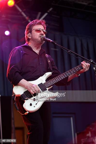 Donald 'Buck Dharma' Roeser from Long Island New York rock band Blue Oyster Cult performs on the Miller Lite Oasis Stage at the Henry W Maier...