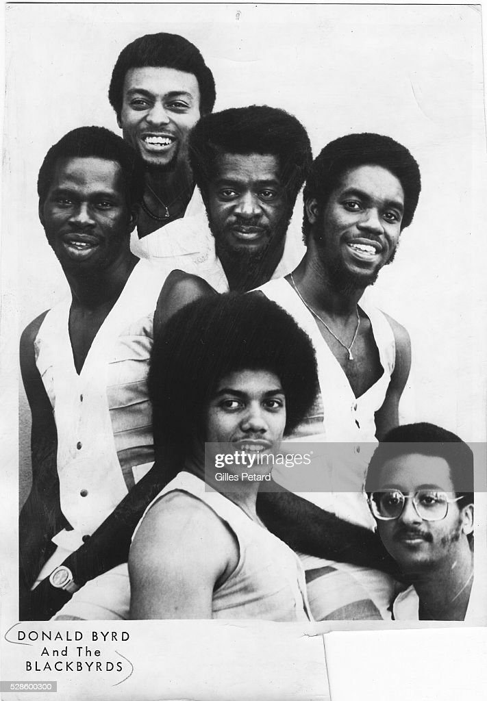 <a gi-track='captionPersonalityLinkClicked' href=/galleries/search?phrase=Donald+Byrd&family=editorial&specificpeople=1551105 ng-click='$event.stopPropagation()'>Donald Byrd</a> and the Blackbyrds, studio portrait, USA, 1975.