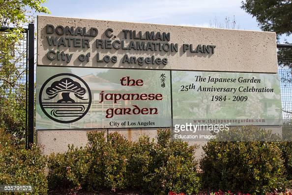 Donald C Tillman Water Reclamation Plant and Japanese Gardens Van Nuys California USA