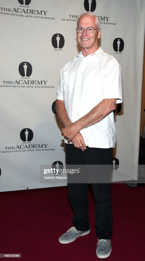 Donald Elliot attends The Academy Of Motion Picture Arts And Sciences' Delves Into The Visual Effects Recipe For 'Life Of Pi' at AMPAS Samuel Goldwyn Theater on May 6, 2013 in Beverly Hills, California.