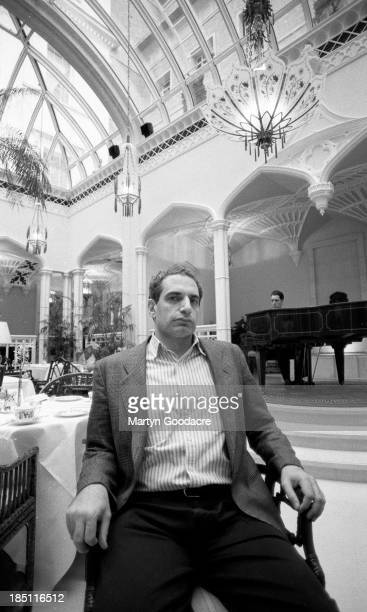 Donald Fagen formerly of Steely Dan portrait London United States 1991