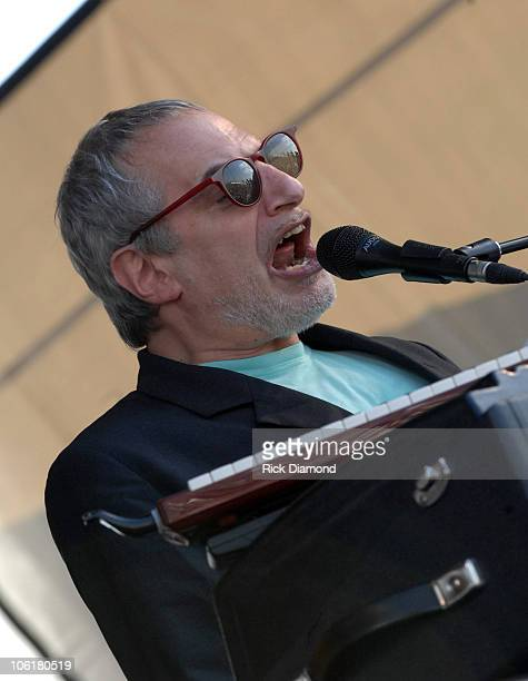 Donald Fagen of Steely Dan during 38th Annual New Orleans Jazz Heritage Festival Presented by Shell Steely Dan at New Orleans Fairgrounds in New...
