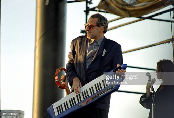 Donald Fagen of Steely Dan during Steely Dan at the Gorge in George August 17 1996 at The Gorge in George Washington in George Washington United...