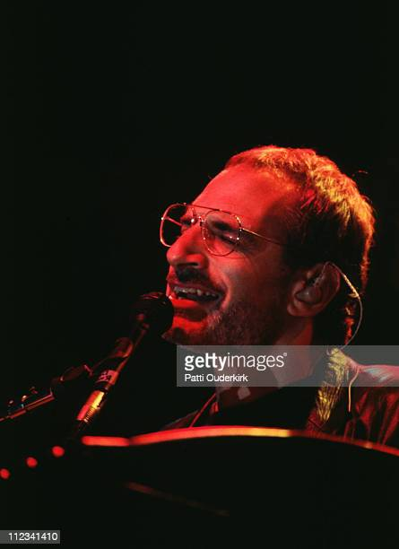 Donald Fagen of Steely Dan during Steely Dan in Concert at Roseland 1995 at Roseland in New York City New York United States