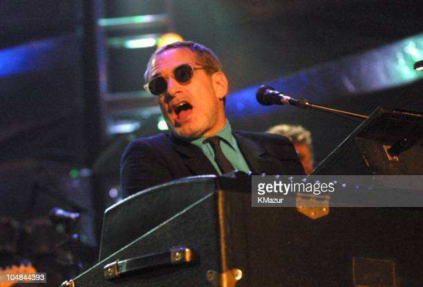 Donald Fagen of Steely Dan inductee during 16th Annual Rock and Roll Hall of Fame Induction Ceremony 2001 at Waldorf=Astoria in New York New York...
