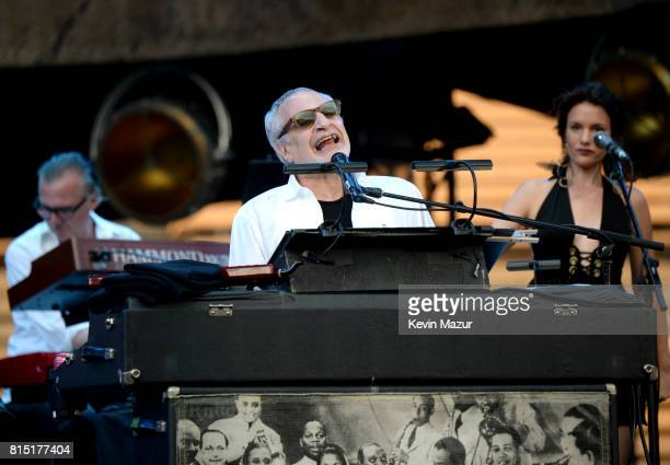 Donald Fragen of Steely Dan performs onstage during The Classic West at Dodger Stadium on July 15 2017 in Los Angeles California