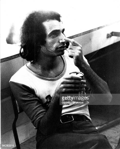 Donald Fagen posed backstage on July 3rd 1974 in Los Angeles California United States