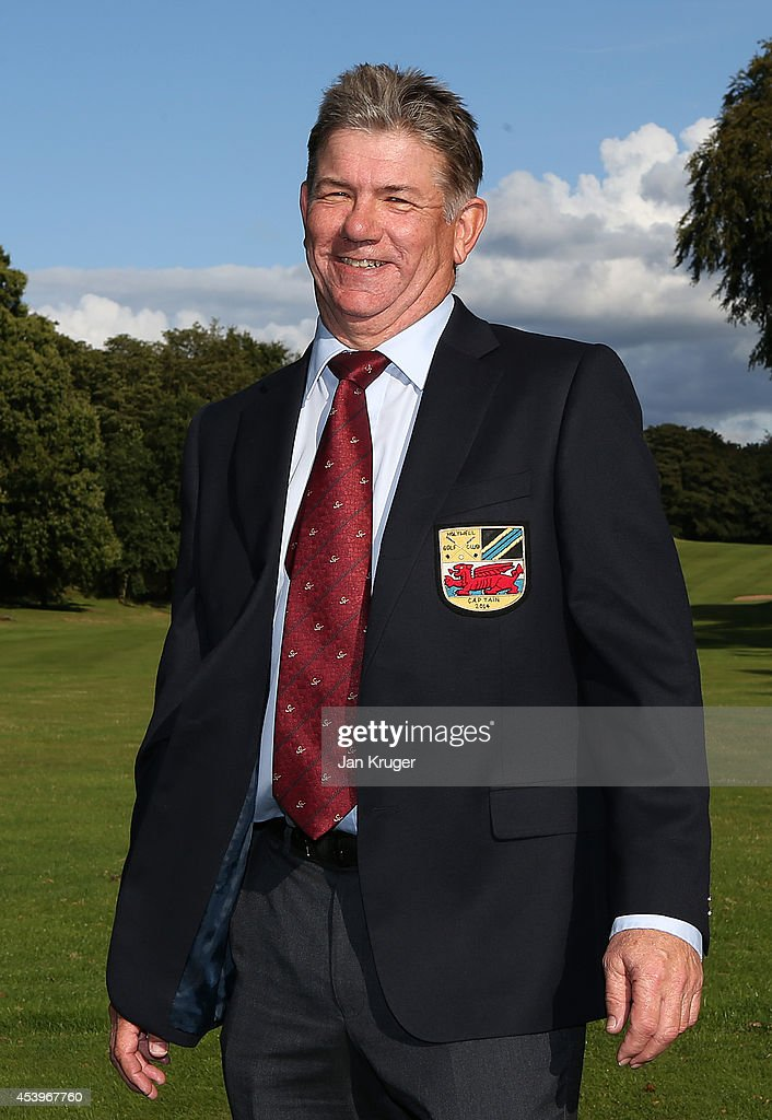 Donald Ferguson of Holywell GC poses after winning the Golfplan Insurance PGA Pro-Captain Challenge - North (West) Regional Qualifier at Dunham Forest Golf and Country Club on August 22, 2014 in Altrincham, England.