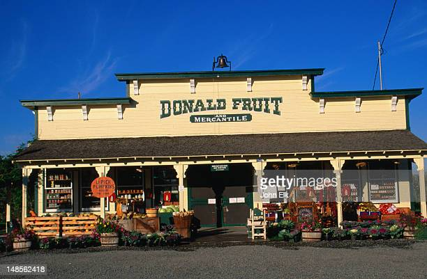 Donald Fruit and Mercantile, a small country store.