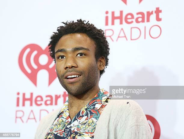 Donald Glover aka Childish Gambino attends the iHeart Radio Music Festival press room held at MGM Grand Resort and Casino on September 19 2014 in Las...
