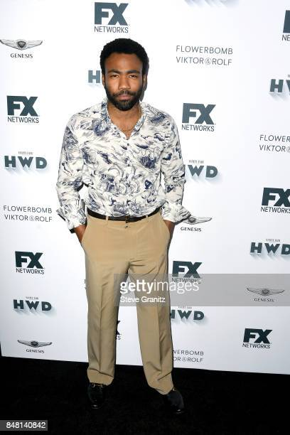 Donald Glover attends FX and Vanity Fair Emmy Celebration at Craft on September 16 2017 in Century City California