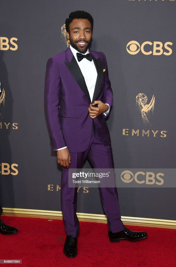 Donald Glover attends the 69th Annual Primetime Emmy Awards at Microsoft Theater on September 17, 2017 in Los Angeles, California.