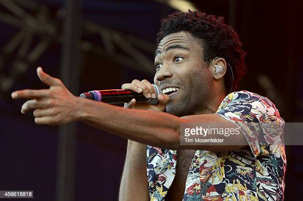 Donald Glover of Childish Gambino performs during the Austin City Limits Music Festival at Zilker Park on October 3 2014 in Austin Texas