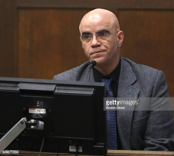 Donald Gobin who provided security at Underbar with witness Brian K Quon testifies The double murder trial of former New England Patriots tight end...