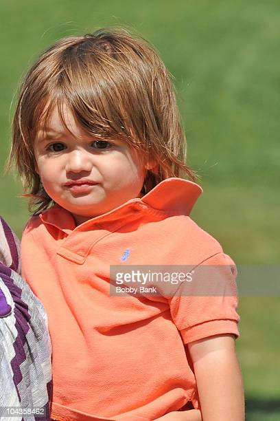 Donald John Trump III attends the 4th annual Eric Trump Foundation Golf Invitational at the Trump National Golf Club Westchester on September 14 2010...