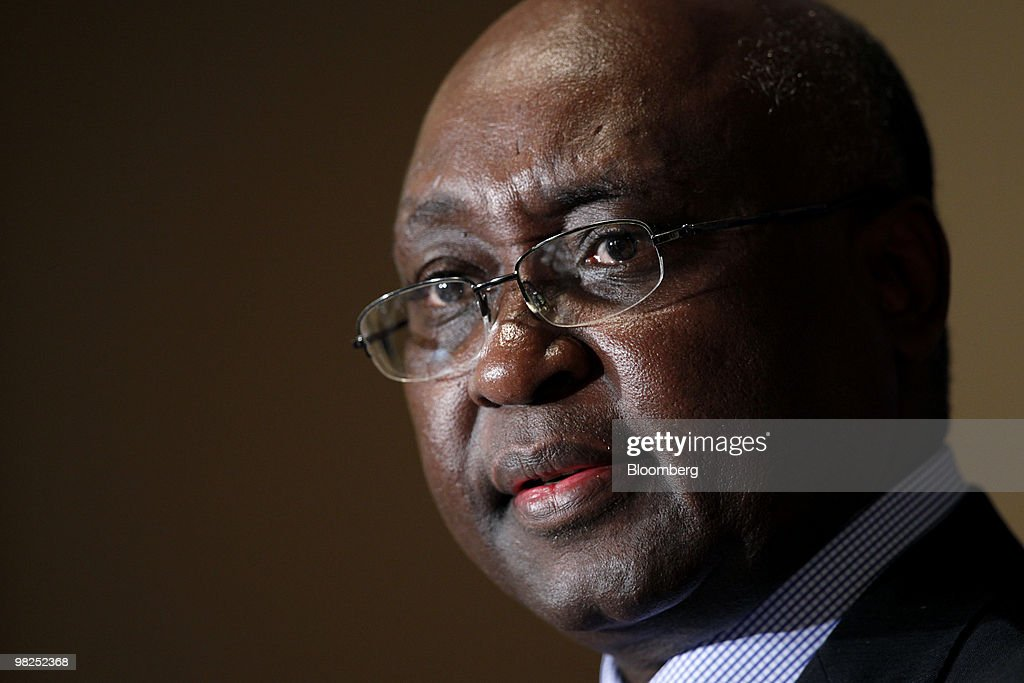 President Of The African Development Bank Donald Kaberuka Press Conference