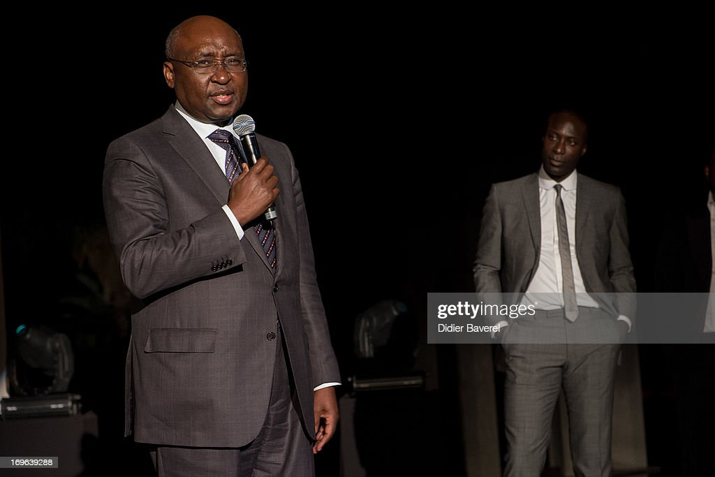 <a gi-track='captionPersonalityLinkClicked' href=/galleries/search?phrase=Donald+Kaberuka&family=editorial&specificpeople=632722 ng-click='$event.stopPropagation()'>Donald Kaberuka</a>(L) President of the African Development Bank, winner of the Made In Africa Foundation Award with Ozwald Boateng OBE (R), Founder of the Made in Africa Foundation, at the IC Banker of the Year Awardsat the Taj Palace on May 29, 2013 in Marrakech, Morocco.