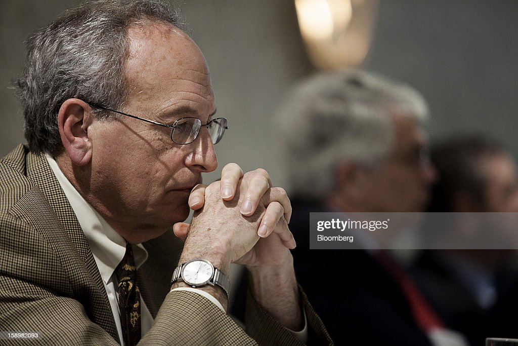 Donald Kohn, former Vice Chairman of the Board of Governors of the Federal Reserve System, listens at the American Economic Association's annual meeting in San Diego, California, U.S., on Friday, Jan. 4, 2013. One day after the Federal Reserve put forth dates at which it might end $85 billion a month of bond purchases, James Bullard, president of the Federal Reserve Bank of St. Louis, described the economic conditions that may warrant a halt to the policy. Photographer: Sam Hodgson/Bloomberg via Getty Images