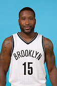 Donald Sloan of the Brooklyn Nets poses for a photo during media day on September 28 2015 in East Rutherford NJ NOTE TO USER User expressly...