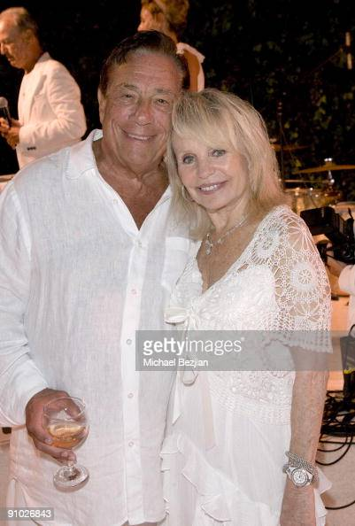 Donald Sterling and Shelly Sterling attend Fred Segal's birthday charity event and auction at a Private Residence on August 29 2009 in Malibu...