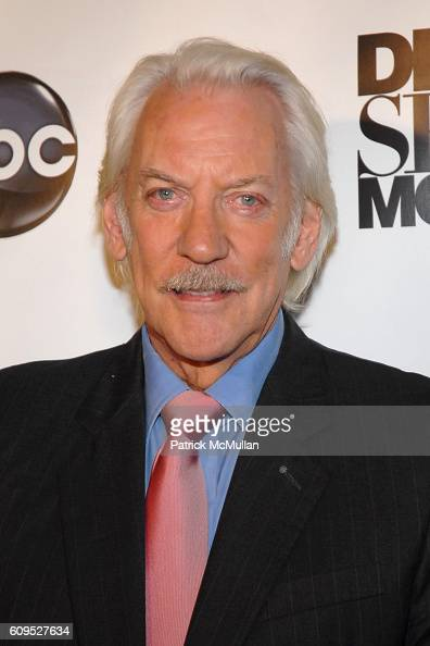 Donald Sutherland attends BVLGARI Presents the Premiere Event For 'Dirty Sexy Money' at Paramount Theatre on September 23 2007 in Los Angeles CA