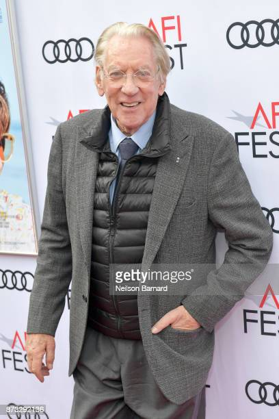 Donald Sutherland attends the screening of 'The Leisure Seeker' at AFI FEST 2017 Presented By Audi at the Egyptian Theatre on November 12 2017 in...