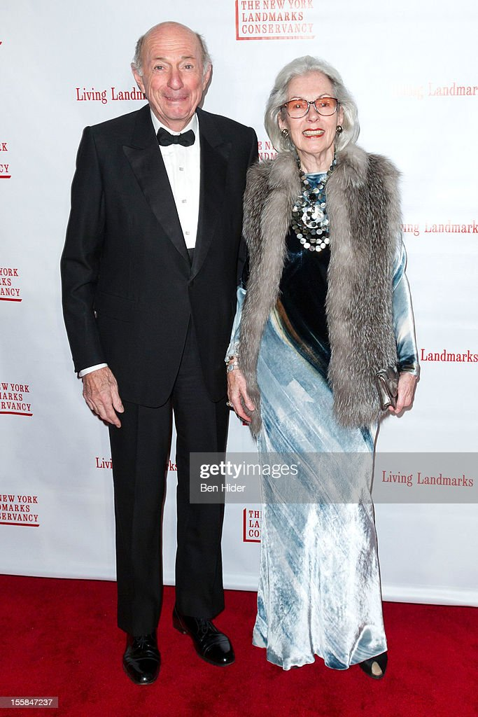 Donald Tober and Barbara Tober attend the 2012 Living Landmarks Celebration at The Plaza on November 8, 2012 in New York City.