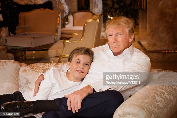 event donald melania home shoot
