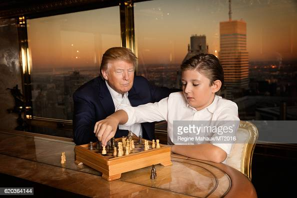 Barron Trump Stock Photos and Pictures | Getty Images