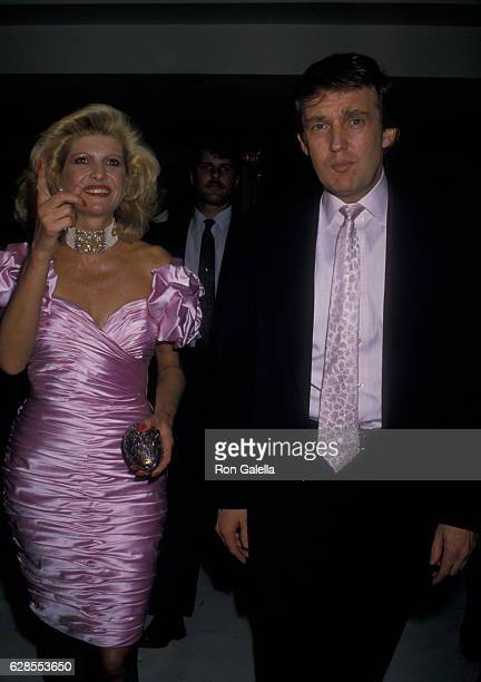 Donald Trump and Ivana Trump attend 42nd Birthday Party for Donald Trump on June 10 1988 at Trump Castle in Atlantic City New Jersey