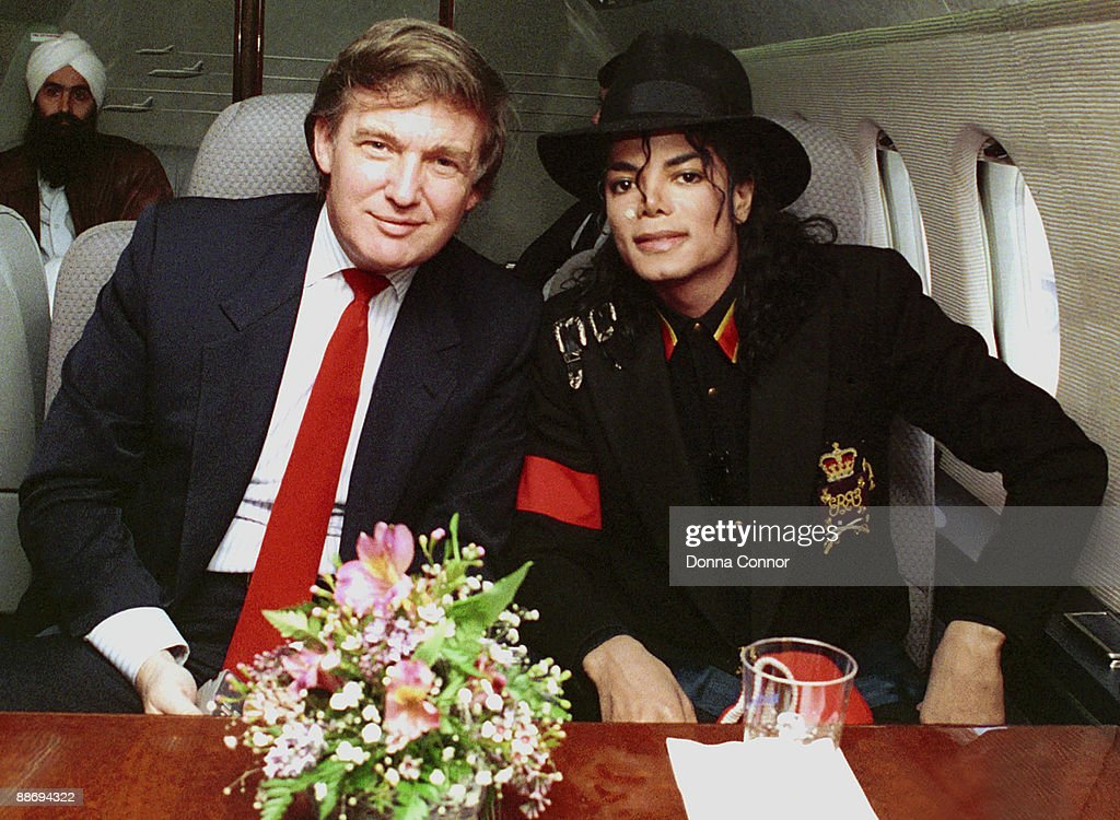 Donald Trump and Michael Jackson *Exclusive*