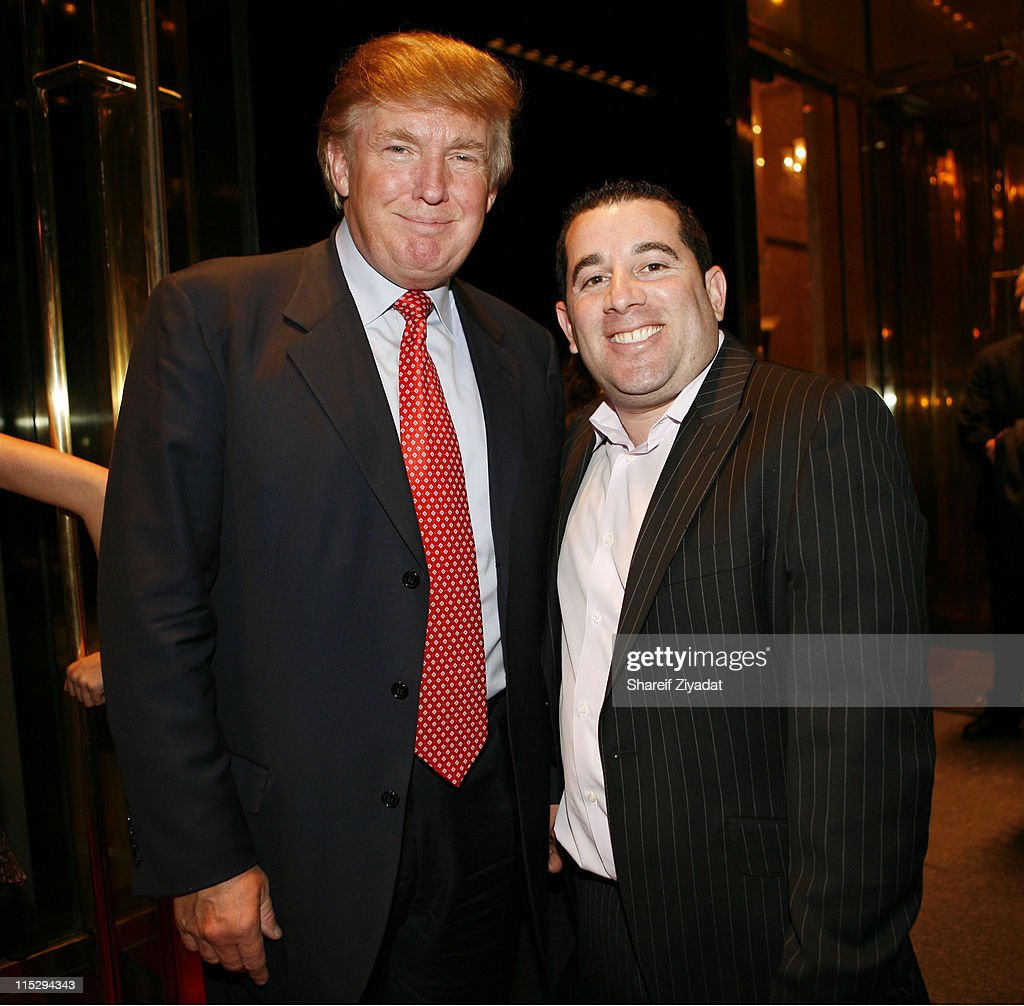 Donald Trump and Ron Berkowitz during Grand Opening of Megu Midtown at Trump World Towers at Trump World Towers in New York, NY, United States.