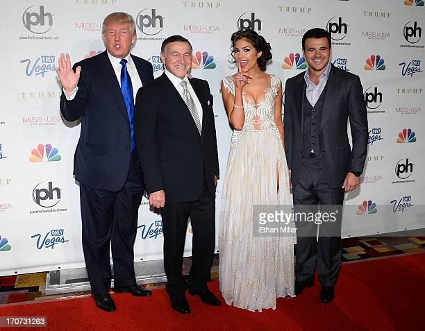 Donald Trump Aras Agalarov Miss Universe 2012 Olivia Culpo and Russian singer Emin Agalarov arrive at the 2013 Miss USA pageant at Planet Hollywood...