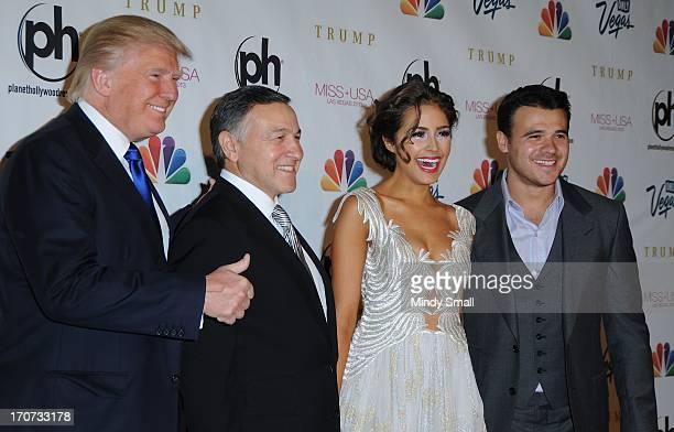 Donald Trump Aras Agalarov Miss Universe 2012 Olivia Culpo and Emin Agalarov arrive at the 2013 Miss USA pageant at Planet Hollywood Resort Casino on...