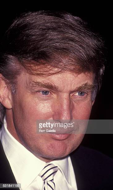 Donald Trump attends Business Traveler International Luncheon on November 26 1991 at the Plaza Hotel in New York City