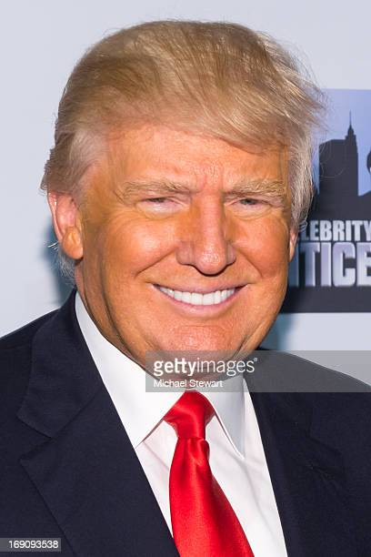 Donald Trump attends the 'All Star Celebrity Apprentice' Finale at Cipriani 42nd Street on May 19 2013 in New York City