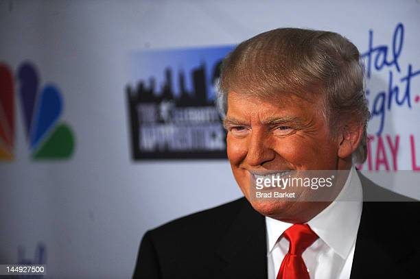 Donald Trump attends the 'Celebrity Apprentice' Live Finale at American Museum of Natural History on May 20 2012 in New York City