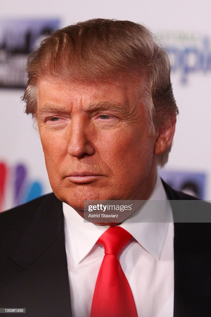 Donald Trump attends 'The Celebrity Apprentice' Season 3 finale after party at Trump SoHo on May 23, 2010 in New York City.