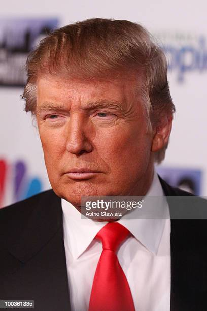 Donald Trump attends 'The Celebrity Apprentice' Season 3 finale after party at Trump SoHo on May 23 2010 in New York City