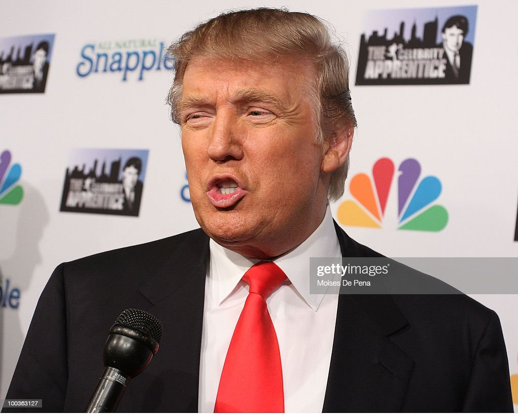 Donald Trump attends 'The Celebrity Apprentice' Season 3 finale after party at the Trump SoHo on May 23, 2010 in New York City.